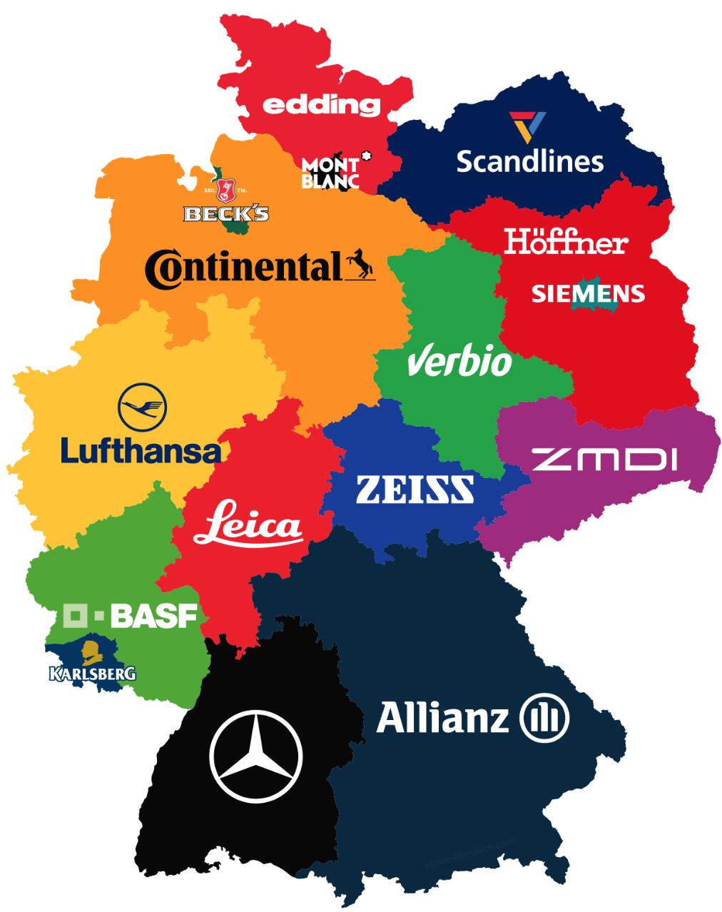 German Brand Map