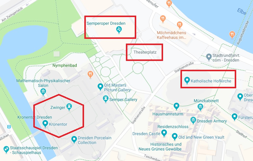 Dresden Map